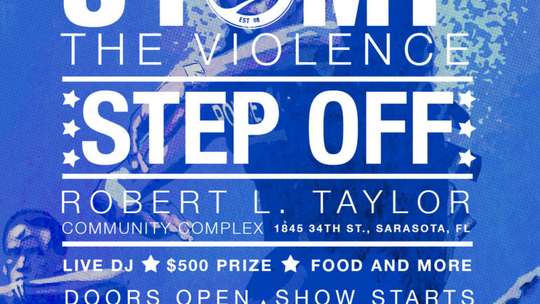 Stomp the Violence STEP OFF